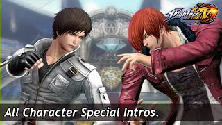 Download KOF XIV : All Special Intros Video