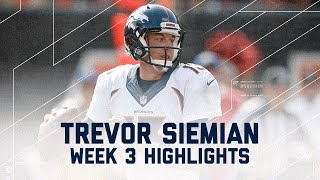 Download Trevor Siemian Highlights | Broncos vs. Bengals | NFL Week 3 Player Highlights Video