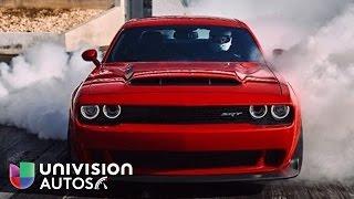 Download El Demonio cobra vida en este Dodge Challenger SRT Demon 2018 Video
