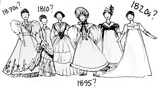 Download 19th Century Fashion - How To Tell Different Decades Apart? Video