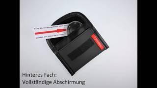 Download Keyless go sicher durch: Themis Security Premium Abschirmtaschen für Funkautoschlüssel Video