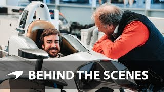 Download Fernando Alonso's Indy 500 seat fit Video
