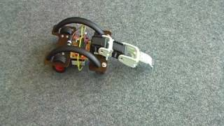 Download A crawling robot learning a forward walking policy on a carpet Video
