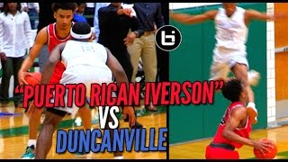 Download ″PUERTO RICAN IVERSON″ VS Duncanville! Ballislife South Game Of The Year? Video