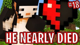 Download HE NEARLY DIED!! - FRIEND OR FOE! #18 | MINECRAFT Video
