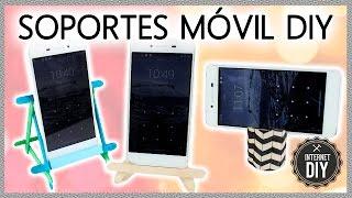 Download SOPORTES PARA MÓVIL DIY 📱 MOBILE PHONE STANDS DIY * en Videos Internet DIY Video