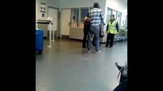 Download San Fran Greyhound Security taunts customer Video