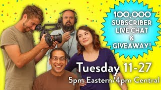 Download 100K Subscribers LIVE CHAT + GIVEAWAY! Video