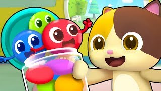 Download Colored Candy Brothers | Colored Candy Turns White | Christmas Song | BabyBus Video