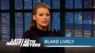 Download Blake Lively Totally Froze When She Met President Obama - Late Night with Seth Meyers Video