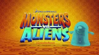 Download Monsters vs. Aliens is invading Nickelodeon! Video