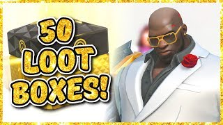 Download Overwatch - OPENING 50 ANNIVERSARY 2018 LOOT BOXES Video