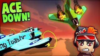 Download BEST CREW Ever vs ENEMY ACE PILOT (Bomber Crew Gameplay) Video