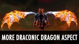 Download Skyrim Mod: More Draconic Dragon Aspect Video