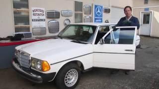Download W123 Mercedes 240D 4 Spd Manual Overview: Kent's Landmark Benz - SOLD! Video