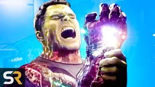 Download What Hulk Saw When He Used The Infinity Stones In Endgame Video