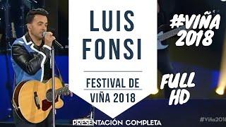 Download LUIS FONSI #VIÑA2018 - Festival de Viña del Mar 2018 - Presentación Completa HD Video