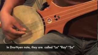 Download Dranyen (Tibetan Lute) basic Intro and Introduction to the 7 notes (Lesson 1) Video