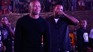 Download Game Brings Out Dr. Dre at His ″The Documentary″ Album 10 Year Anniversary Concert Video