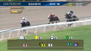 Download Gulfstream Park August 24, 2019 Race 10 Video