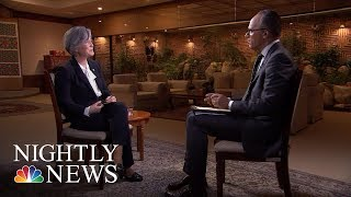 Download South Korean Foreign Minister Kang Kyung-Wha On North Korea Nuclear Weapon Program (Full) | NBC News Video