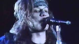 Download Bon Jovi Blood On Blood Live Chile 1990 Video