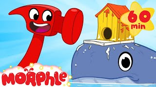 Download Building Animal Houses With Mila And Morphle! Crafts and Creativity Cartoons For Kids Video