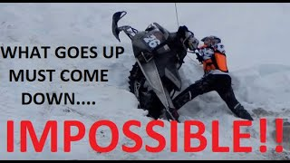 Download AN IMPOSSIBLE SNOWMOBILE HILL CLIMB! | JUST SNOWMOBILES Video