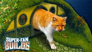 Download LOTR Litter Box & Cat Scratching Post (Lord of the Rings) - SUPER-FAN BUILDS Video