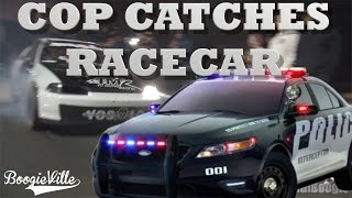 Download Cop Crashes Street Race and Catches Un Lucky Racer Video