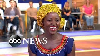 Download Queen of Katwe Star Lupita Nyong'o Interview Video