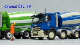 Download Conrad MB Actros Liebherr HTM 1204 Mixer 'Christen' and 'Kibag' by Cranes Etc TV Video