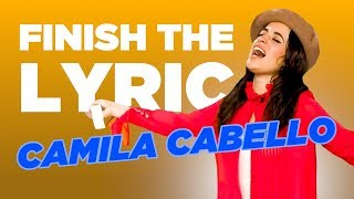 Download Camila Cabello COMPLETELY NAILS 'Finish The Lyric' Video
