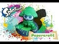Download Splatoon Papercraft: Green Squid! Video