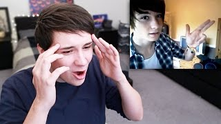 Download Dan Reacts to His Old Videos Video