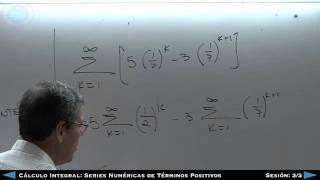 Download Cálculo Integral: Series Numéricas De Términos Positivos - 3/3 Video