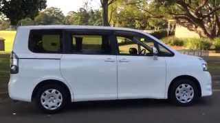 Download Toyota Voxy / Noah 8 seater Review For Sale Lifter Wellcab EdwardLees.au Video