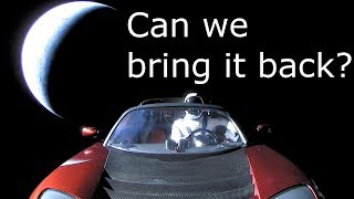 Download How to capture (Or steal) Elon Musk's Tesla Roadster and Starman Video