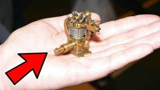 Download Top 20 MOST INCREDIBLE SMALLEST ENGINE In The World Starting And Running [HANDMADE] Video