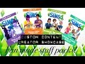 Download Sims 4 Custom Content Creator Showcase: Fan Made Stuff Packs! Video