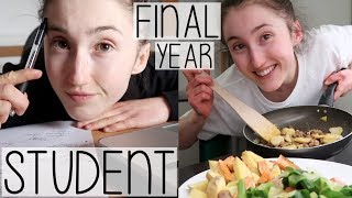 Download REALISTIC DAY IN THE LIFE OF A FINAL YEAR STUDENT | WRITING ESSAYS, CHEAP MEALS & FULL BODY WORKOUT Video