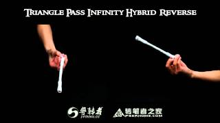 Download 【Penspinning Tutorial】100.Triangle Pass Infinity Hybrid Reverse Video