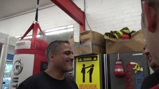 Download Jermell Charlo in the ring ready to sparr EsNews Boxing Video