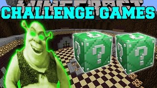 Download Minecraft: SHREK CHALLENGE GAMES - Lucky Block Mod - Modded Mini-Game Video