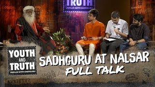 Download Sadhguru at NALSAR - Youth and Truth [Full Talk] Video