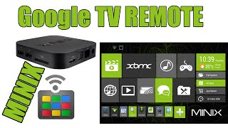 Download Google TV Remote on Minix Android Box Video
