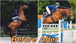 Download FIONA'S 1 YEAR PROGRESS // Problem Horse To 1m20 Showjumper Video