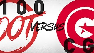 Download 100 vs. CG - Week 3 Day 1   NA LCS Summer Split   100 Thieves vs. Clutch Gaming (2018) Video