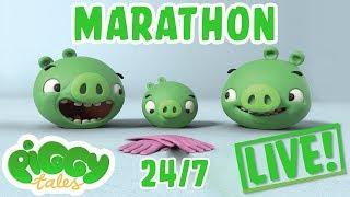 Download Piggy Tales Live Stream Marathon 24/7 🔴 | Angry Birds Video