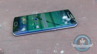 Download Samsung Galaxy S6 Edge Gold 64GB Unboxing and Hands On Review - iGyaan Video
